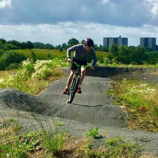 Fredericia Pumptrackbane i MadsbyParken  fredericiaidrtscenter fic fredericiacykelklub cykling pumptrack sport