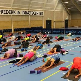 Yogafestival i Fredericia Idrtscenter