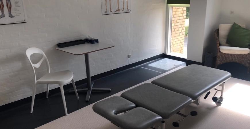 Lej et behandlerrum i Fredericia Idrætscenter