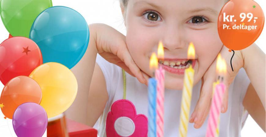 børnefødselsdag svømmehal