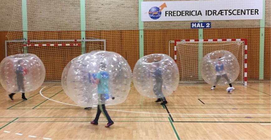 Bumperballs i Fredericia Idrætscenter