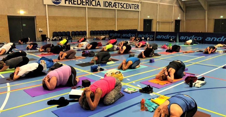 Mindful Yogadag i Fredericia Idrætscenter