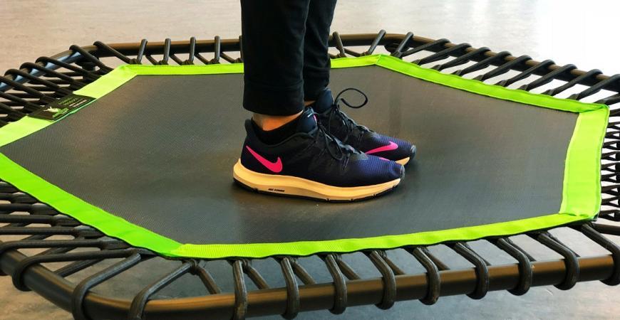 Jumping Fitness til Polterabend i Fredericia Idrætscenter