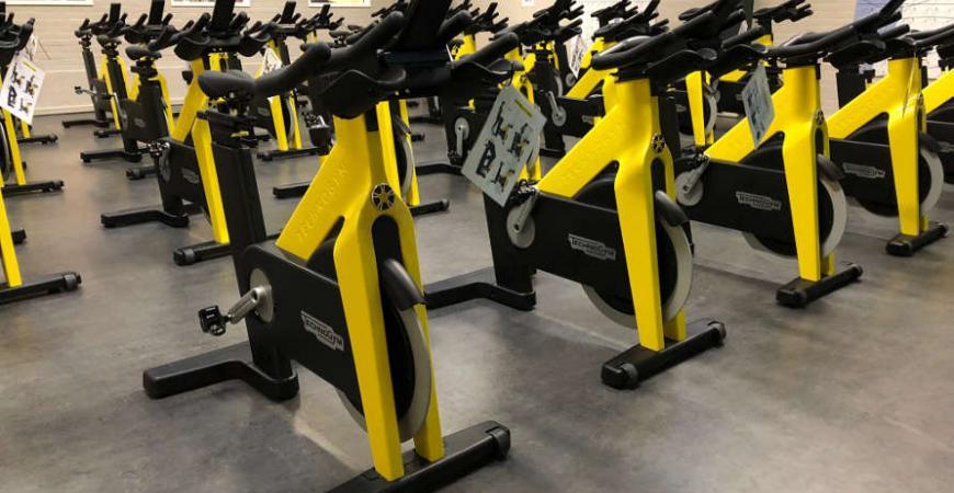 nye technogym cykler