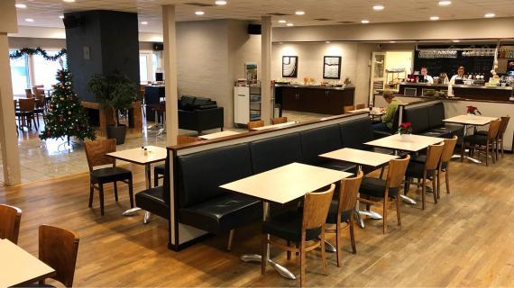 Café FIC i Fredericia Idrætscenter