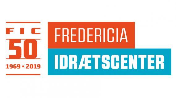 Jubilæumslogo til Fredericia Idrætscenter