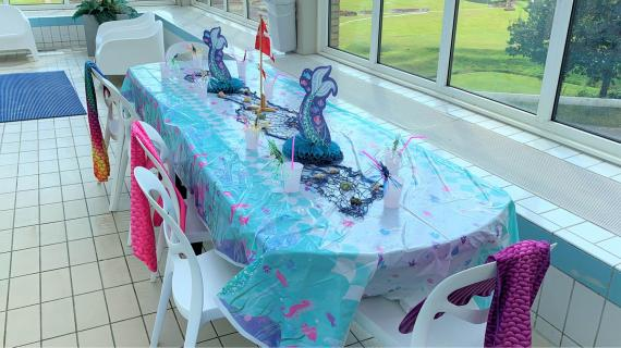 Havfruefødselsdag i Fredericia Idrætscenter