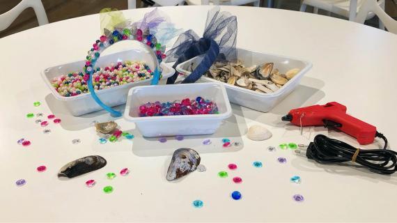 Pandebånd til havfruefødselsdag