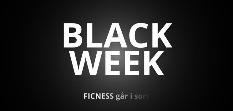 Black week i Ficness