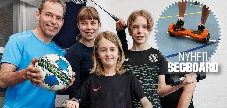 Familiesport i Fredericia Idrætscenter